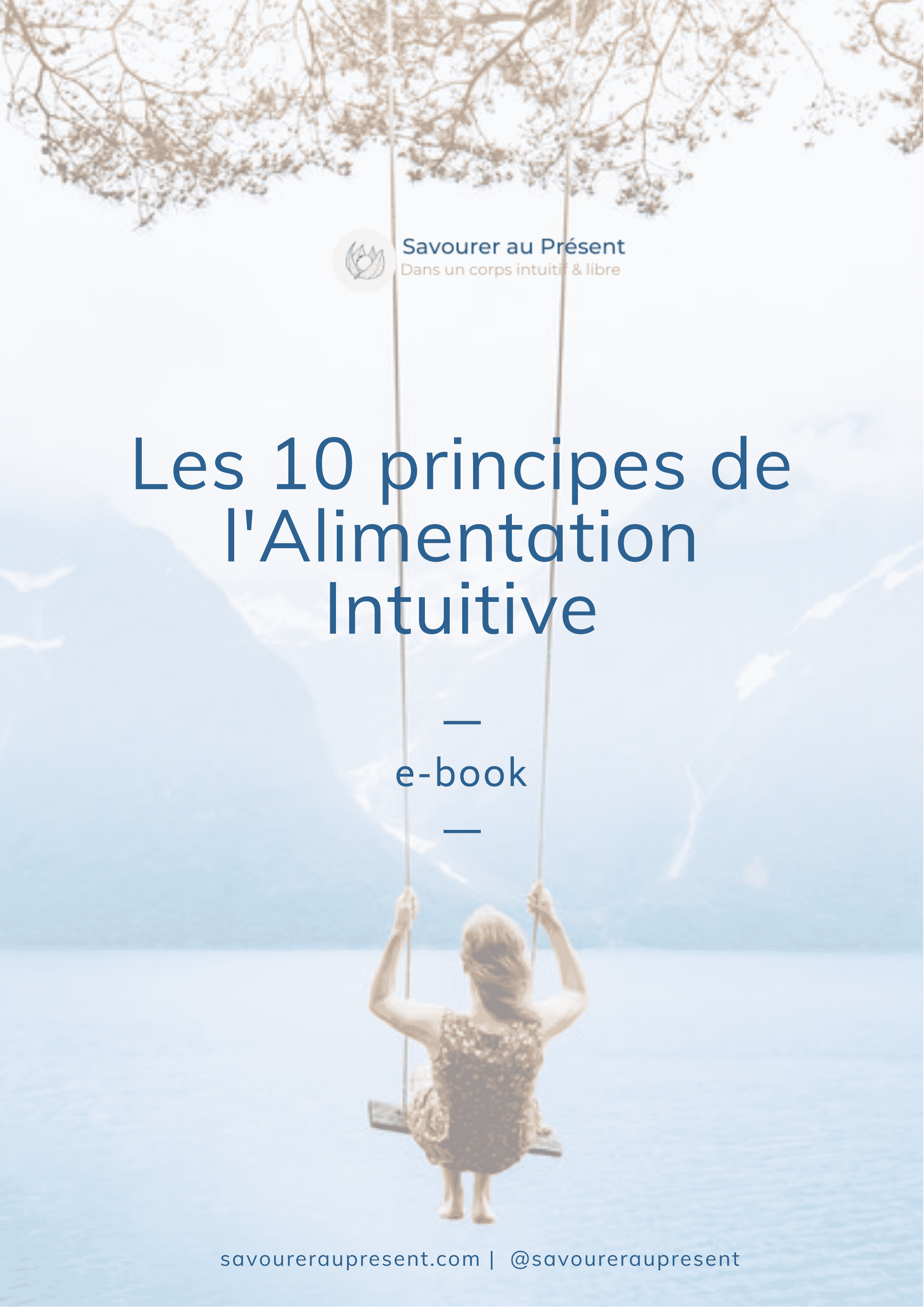 E-book gratuit : Les 10 principes de l'Alimentation Intuitive